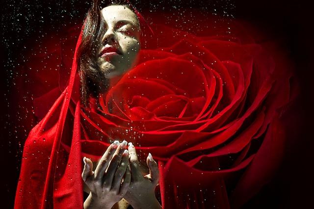 Min gäst Angel Heart kanaliserar Maria Magdalena