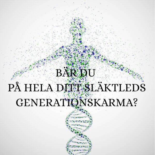 HAR DU UPPGIFTEN ATT TRANSFORMERA HELA DITT SLÄKTLEDS GENERATIONSKARMA?
